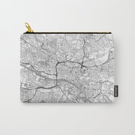 Glasgow Map Line Carry-All Pouch