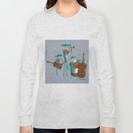 Mariachi Muerto Long Sleeve T-shirt