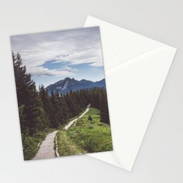 Greetings from the trail - Landscape and Nature Photography Stationery Cards