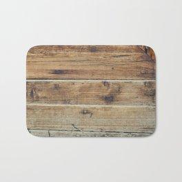 Wood Grain Bath Mat