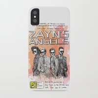 cyrilliart iPhone & iPod Cases featuring Zayn's Angels by Cyrilliart