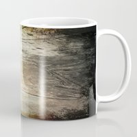 shell Mugs featuring Shell by KunstFabrik_StaticMovement Manu Jobst