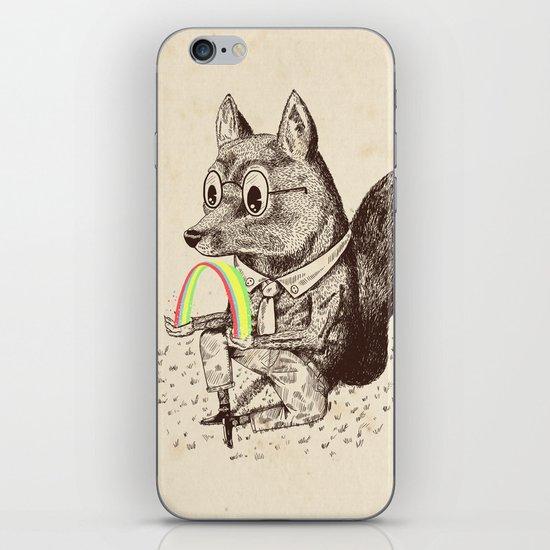 Strange Fox iPhone & iPod Skin