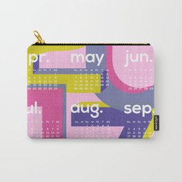 2017 Calendar - Typo II Carry-All Pouch