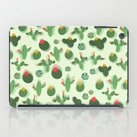 succulent iPad Cases featuring Succulent by Kakel
