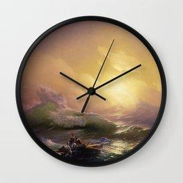 The Ninth Wave - Aivazovsky Wall Clock