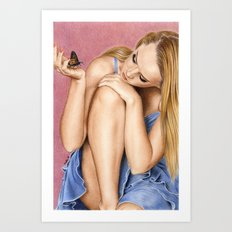 Touch of sweetness Art Print