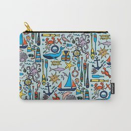 Nautical Drifts Carry-All Pouch