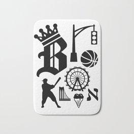 Brooklyn Letters, Ver. 3 Bath Mat