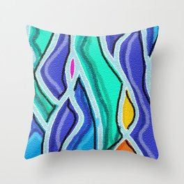 Sandstone Etude Throw Pillow
