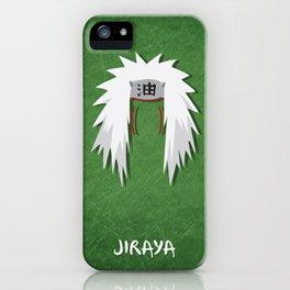 Naruto Mininal Series - Kakashi iPhone Case
