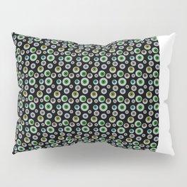 I Only Have Eyes for You (on Designer Black Background)  Pillow Sham