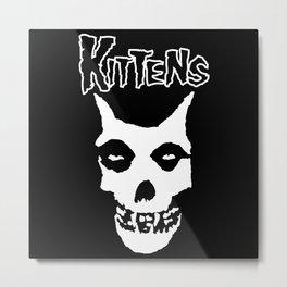 Misfit Kittens Metal Print