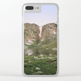 Summit Lake Clear iPhone Case