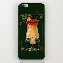 Food Series - Trinidad Cobbler iPhone Skin