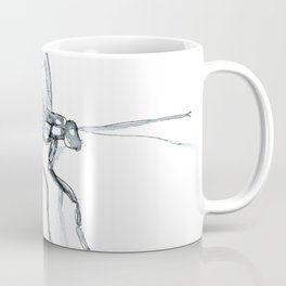 Mosquito, Watercolor Coffee Mug