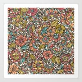 Doodles Garden Art Print