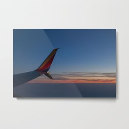 Sunset in the Sky Metal Print
