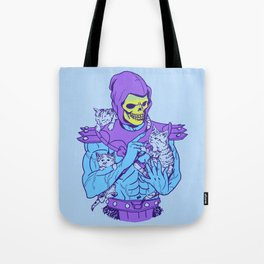 Masters of the Meowniverse Tote Bag