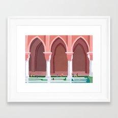 La Sultana Framed Art Print