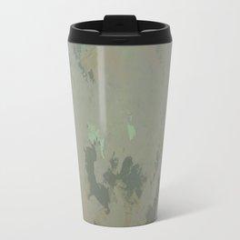 Golden Sea Foam Travel Mug