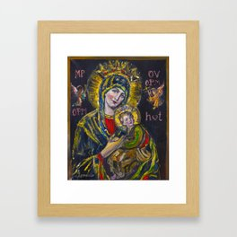 Our Lady of Perpetual Help Framed Art Print