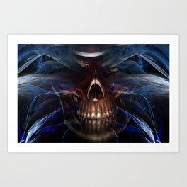 Feeling Good In Death Art Print