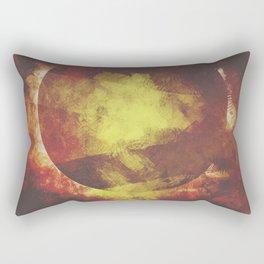 The baby moon Rectangular Pillow