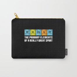Windsurfer Funny Periodic Table Nerd Carry-All Pouch