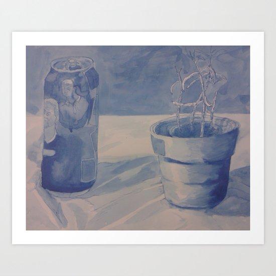 Plant Still Life 3 Art Print
