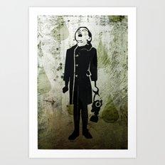Virus Girl Art Print