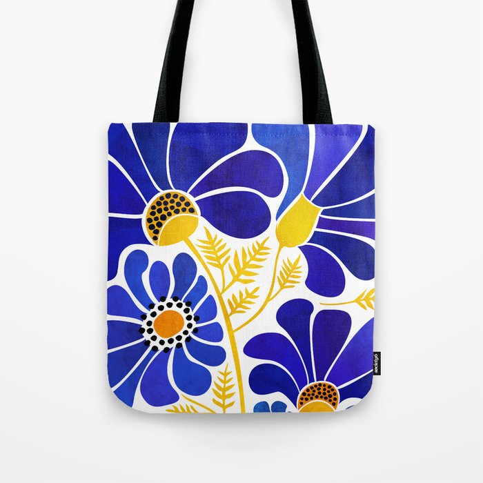 The Happiest Flowers Tote Bag
