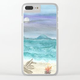 skyscapes 2 Clear iPhone Case