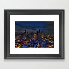 The City Of Big Shoulders Framed Art Print
