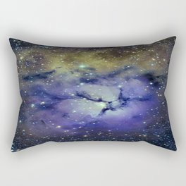 Pansy in Space Rectangular Pillow