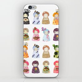 PaperDolls iPhone Skin
