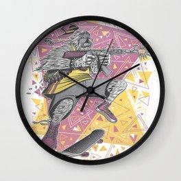 Skate Wars Yeti Wall Clock