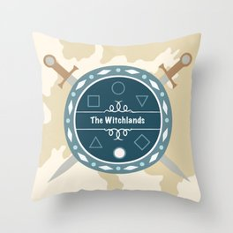 The Witchlands Throw Pillow