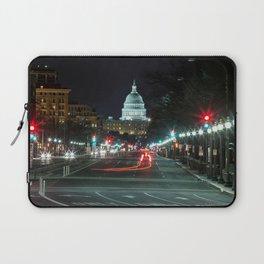 DC At Night Laptop Sleeve