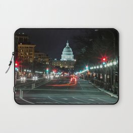 DC At Night Laptop Sleeve