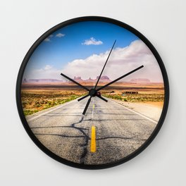 Road to the Monuments Wall Clock