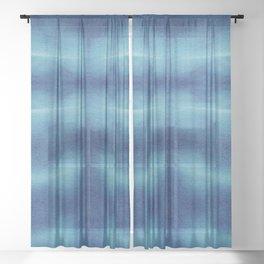 Tsuna Shibori Sheer Curtain