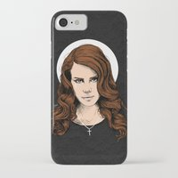 lana iPhone & iPod Cases featuring LANA. by paintparamore