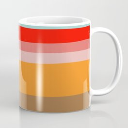 Color Stripes Coffee Mug
