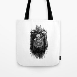 Black Swordsman Tote Bag