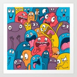 Weird Bros Art Print
