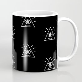 Eye of Providence Pattern Coffee Mug