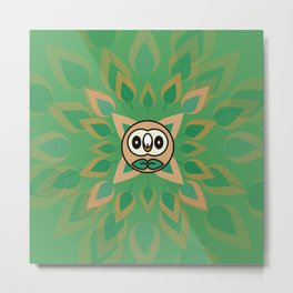 Rowlet's Forest Metal Print
