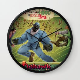 DRACULA VS. ROBIN HOOD VS. JEKYLL & HYDE! Wall Clock
