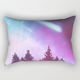 Halley's Comet Rectangular Pillow